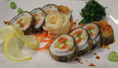 Grill Salmon Roll
